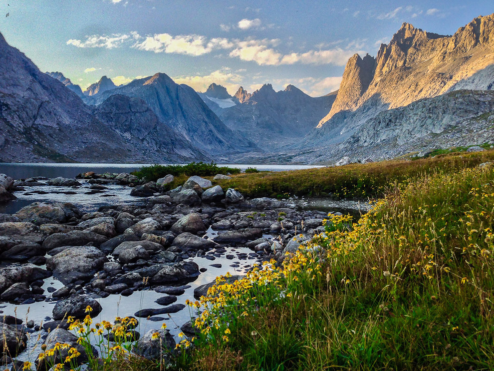 And finally, this spectacular shot of the Titcomb Basin in Wyoming that will make you want to quit your job to go hiking RIGHT NOW: