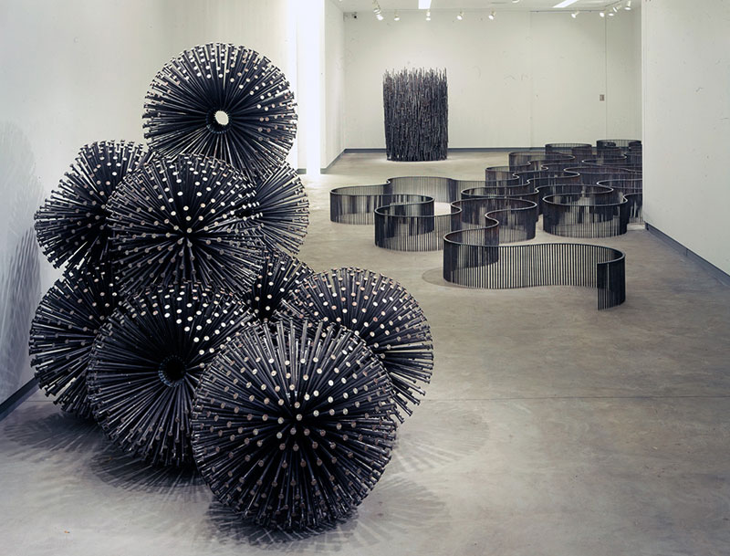 sculptures using only 12 inch nails john bisbee (5)