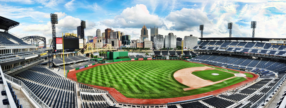 Because no baseball field offers views as glorious as PNC Park.