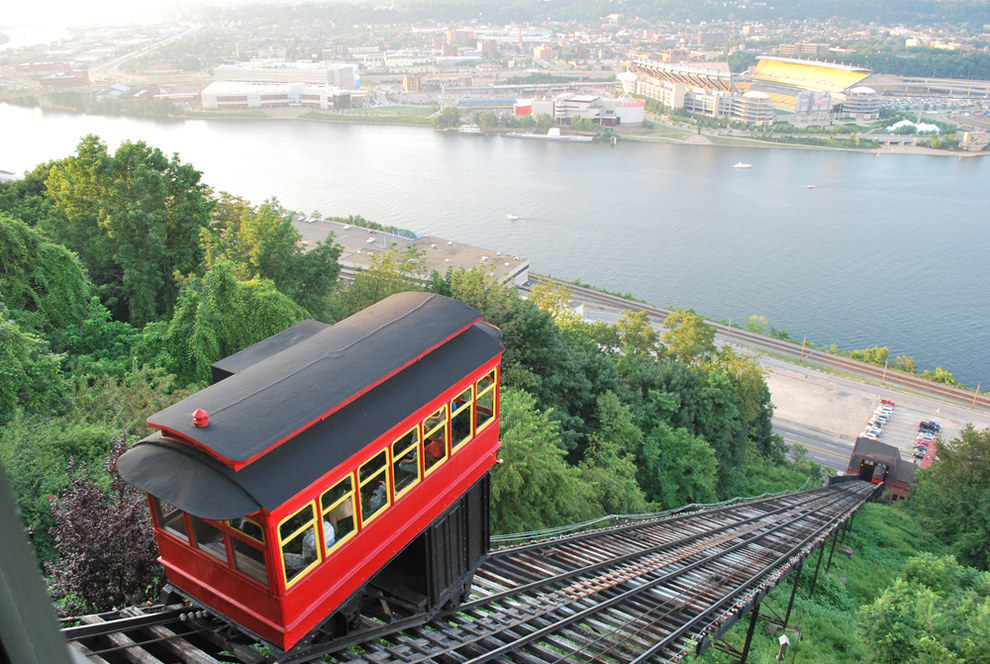 Because some places don't have things like the Duquesne Incline to help you traverse the hills.