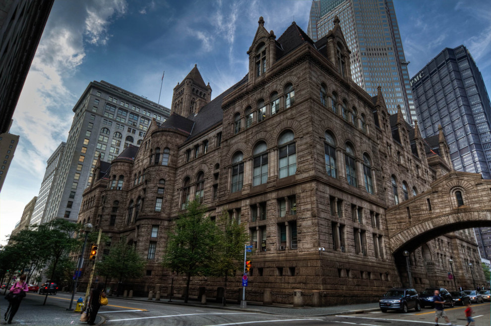 Because you assume every courthouse is as breathtaking as the Allegheny County Courthouse.