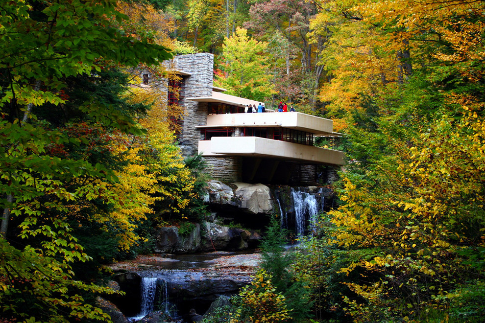 Because you forget that Frank Lloyd Wright didn't just plop his designs near any city.