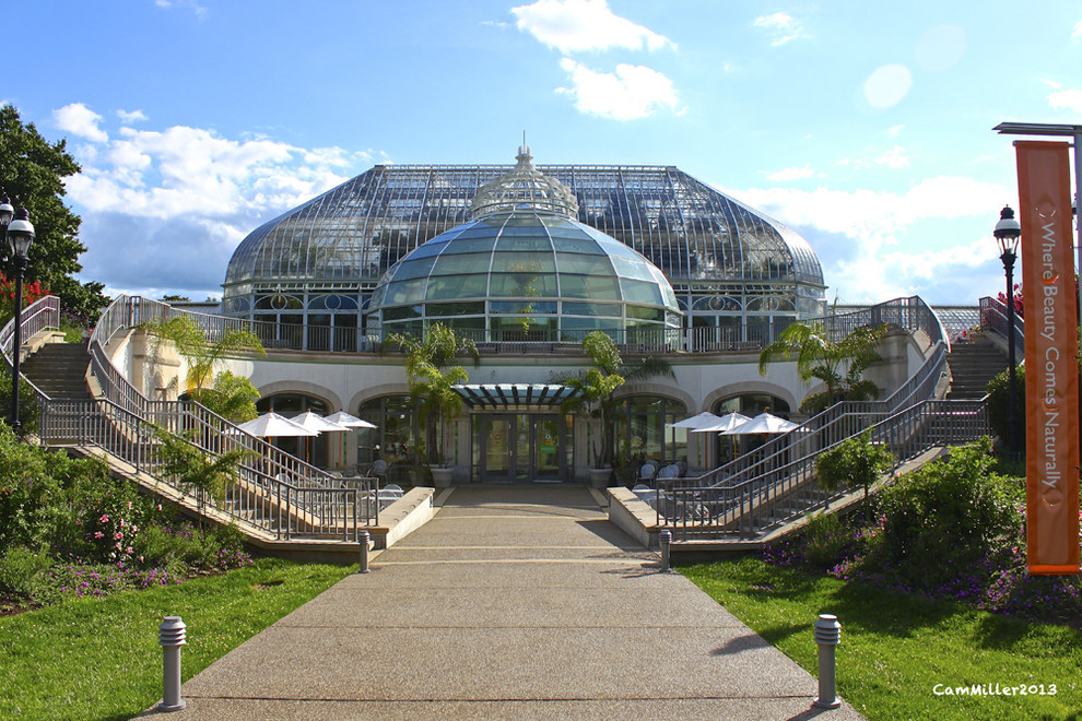 Because you get used to magnificent botanical gardens casually sitting in your backyard.