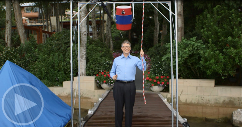 Bill Gates Accepts Mark Zuckerberg's ALS Ice Bucket Challenge