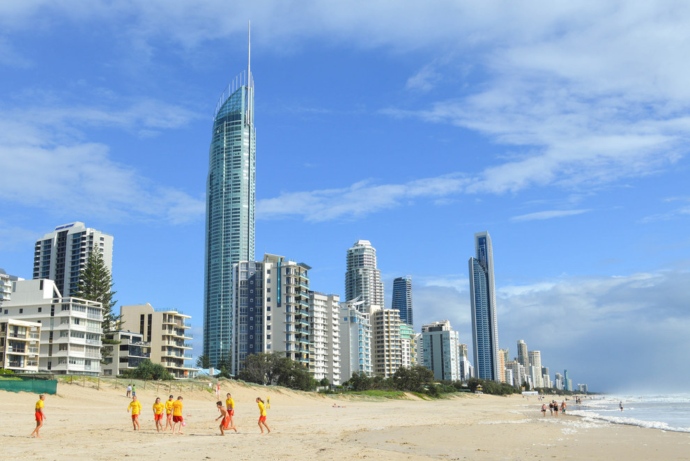 Even the freaking GOLD COAST HAS A BETTER SKYLINE THAN SYDNEY.