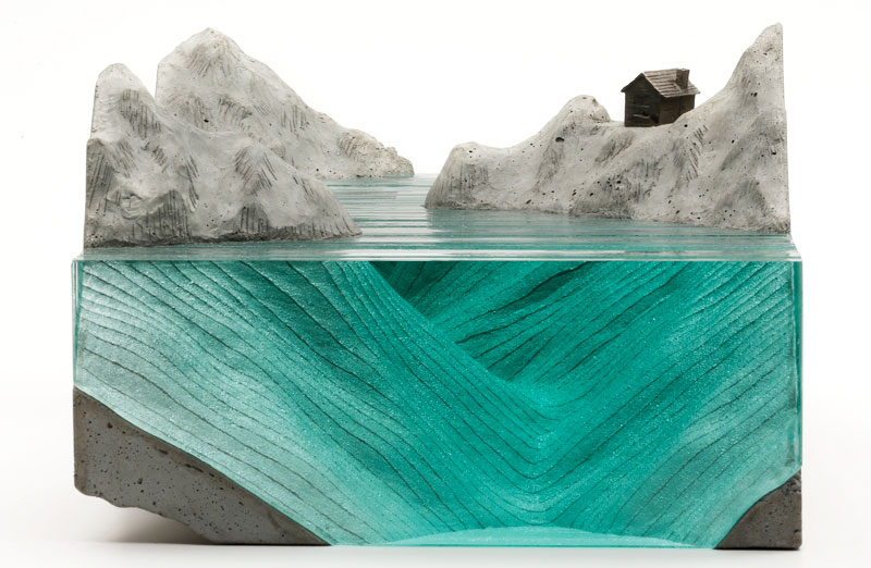 ben young glass wave sculpture 15