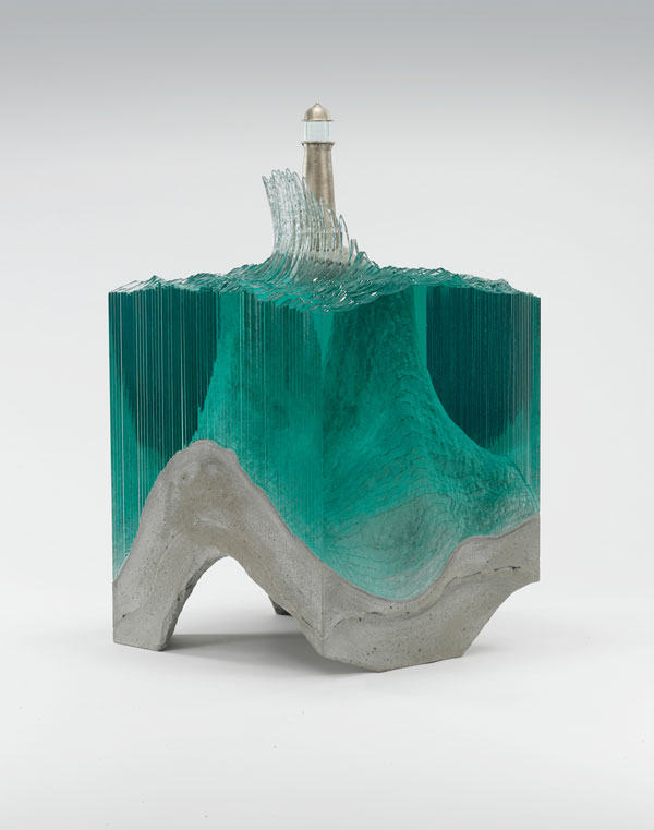 ben young glass wave sculpture 5