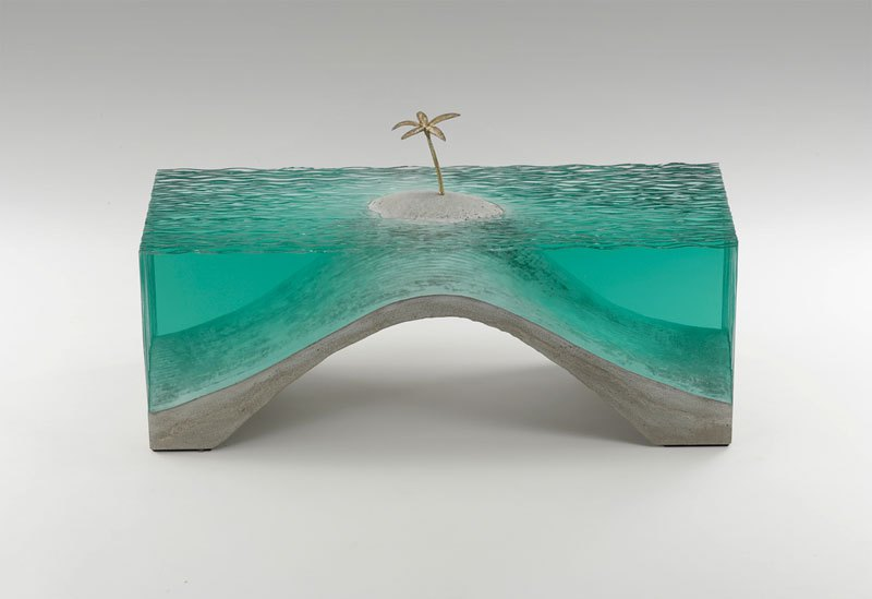 glass wave sculptures by ben young (4)