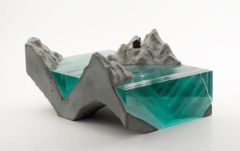 glass wave sculptures by ben young (1)