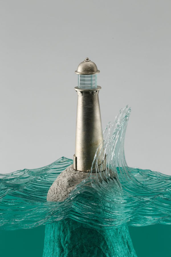 glass wave sculptures by ben young (7)