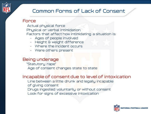 Here's The Domestic Violence Presentation For NFL Players And Coaches - BuzzFeed News