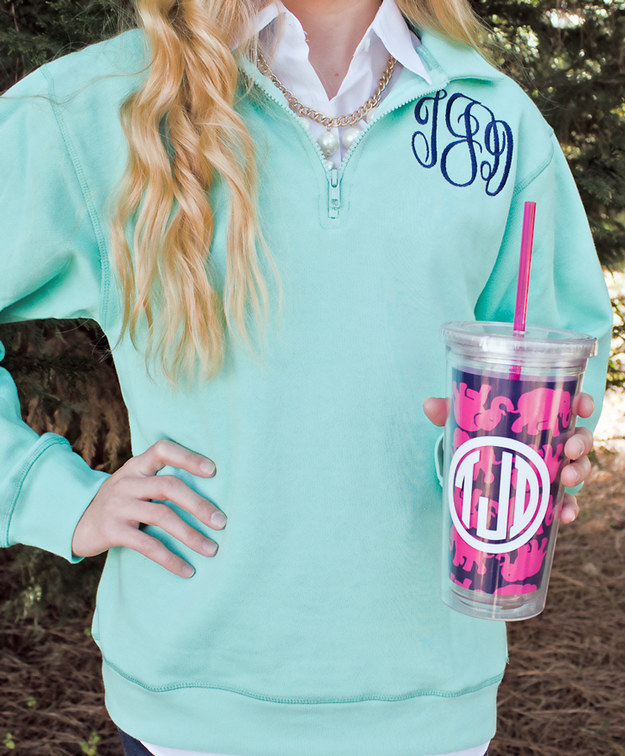 How do you know which stuff is yours without monograms?