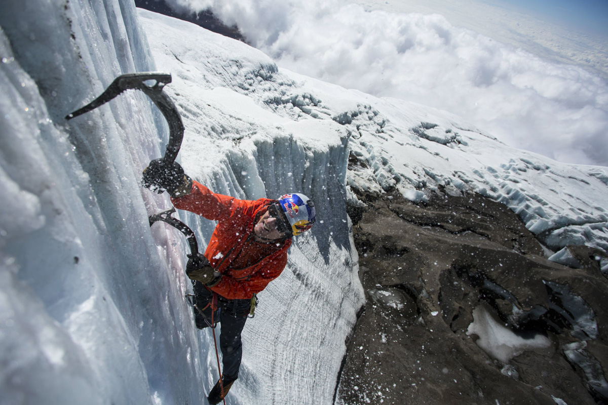 ice climbing at the summit of kilimanjaro will gadd red bull (3)