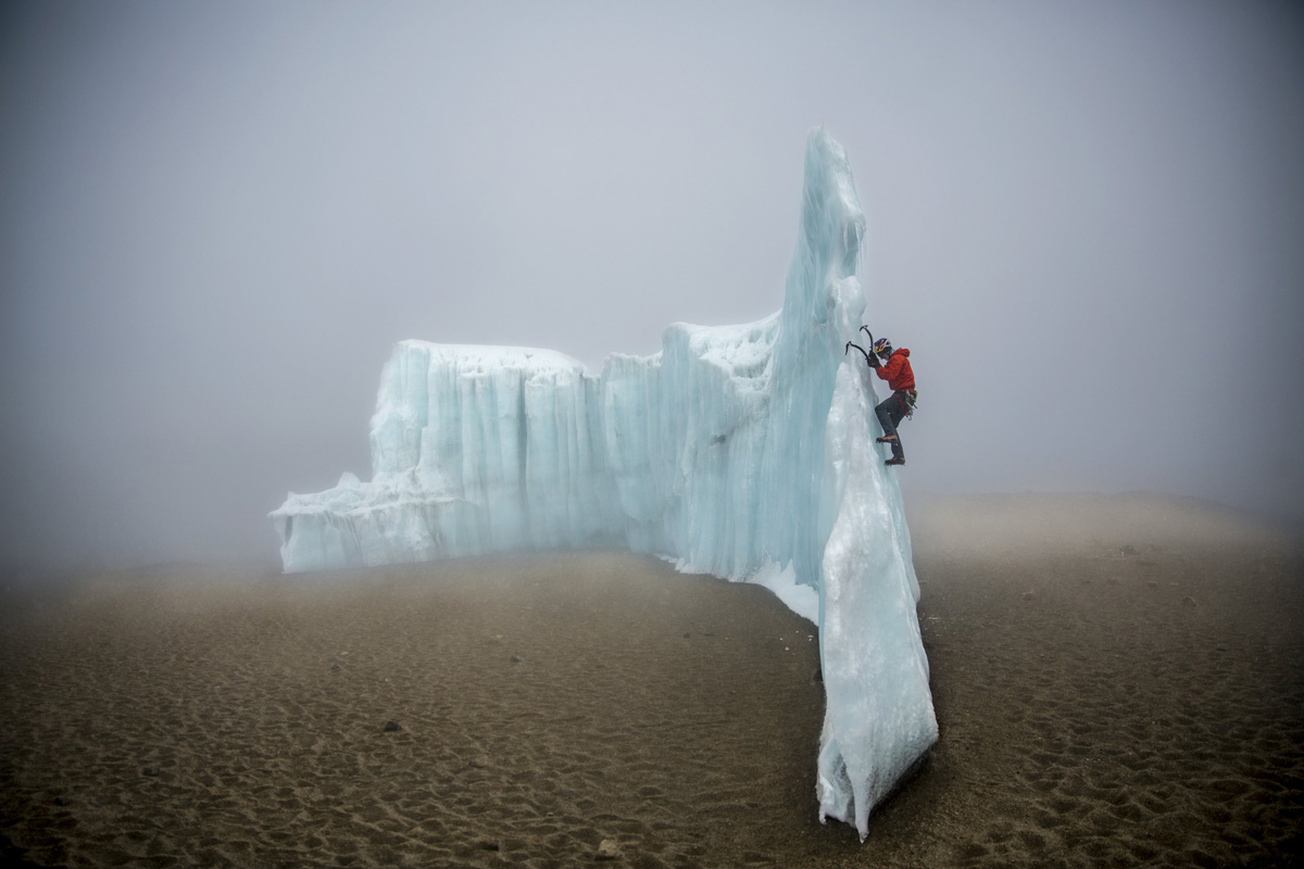 ice climbing at the summit of kilimanjaro will gadd red bull (6)