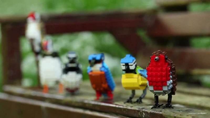 LEGO Birds by Tom Poulsom (3)