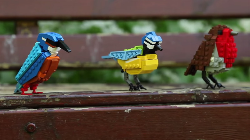 LEGO Birds by Tom Poulsom (1)
