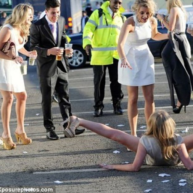 Melbourne cup in reality.