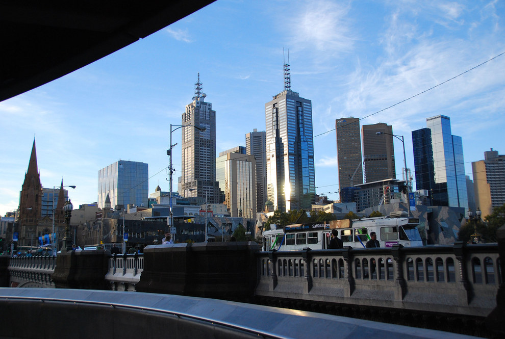 Melbourne has a much nicer skyline to be quite honest.