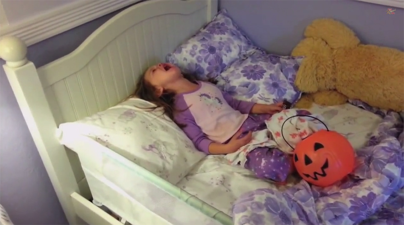Parents Tell Their Kids They Ate All Their Halloween Candy 2014