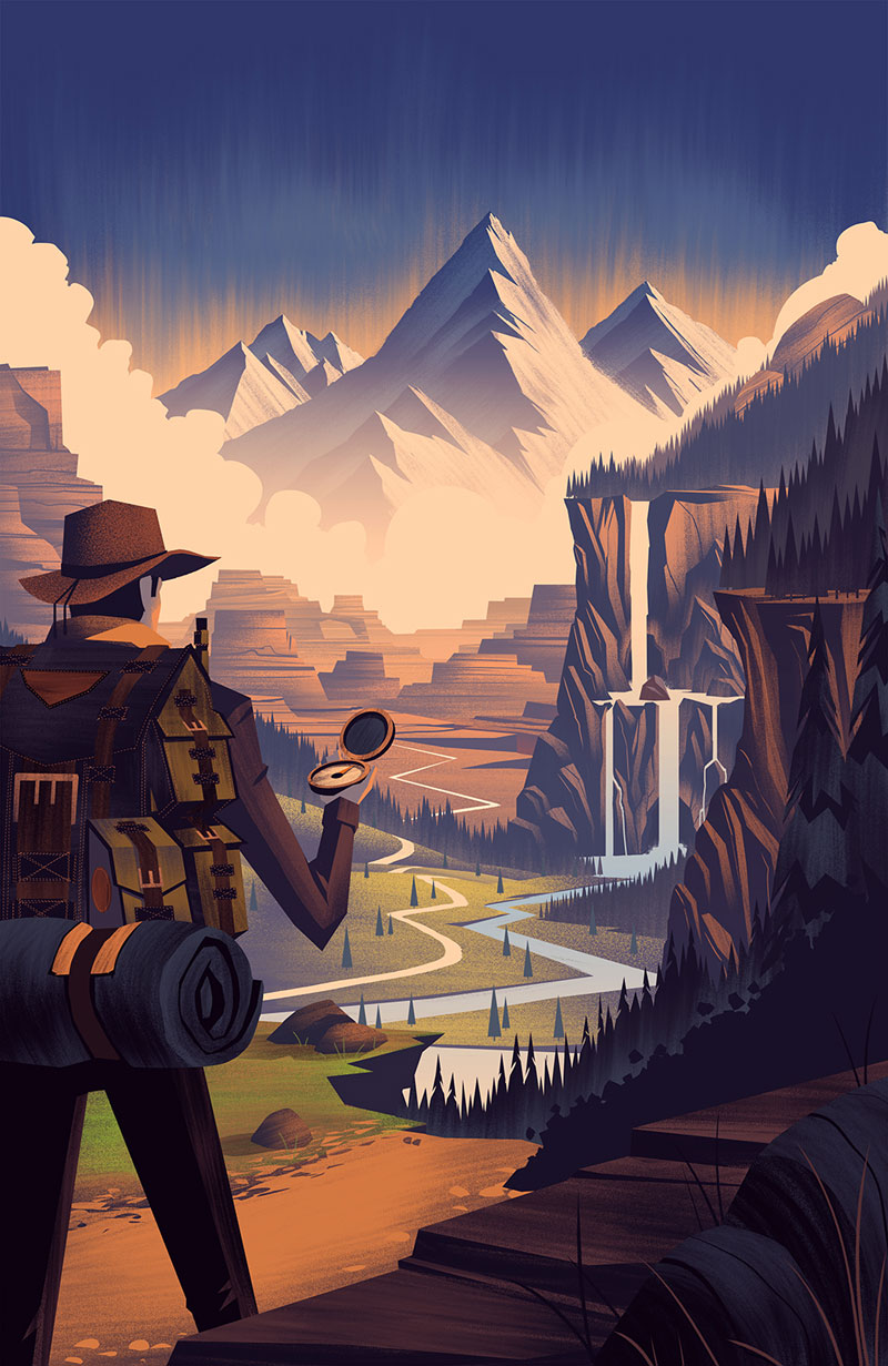 The Great Outdoors by Brian Edward Miller