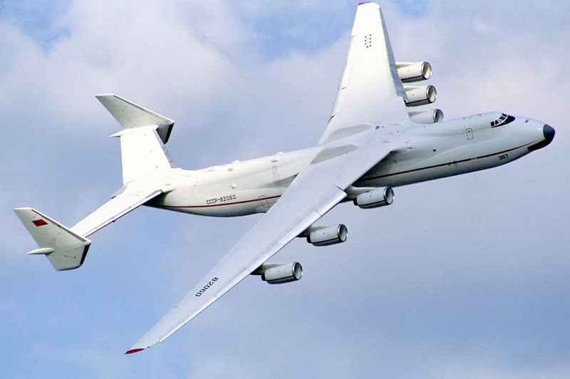 The Largest Airplane Ever Built antonov an 225 mriya (2)
