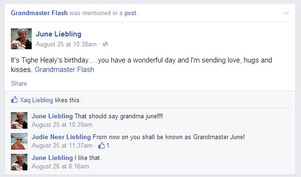 These Adorable Grandmas Keep Accidentally Tagging Themselves as Grandmaster Flash
