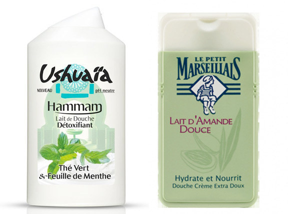 Ushuaia and Petit Marseillais Shower Gel from £3.20