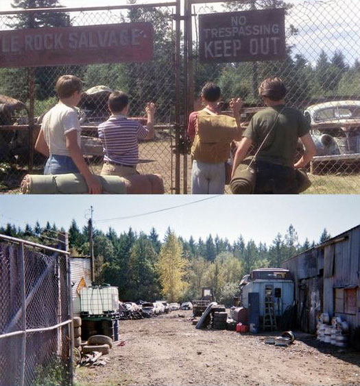 What Places from Stand By Me Look Like Today then and now (8)