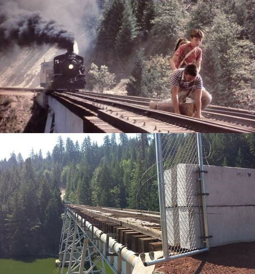 What Places from Stand By Me Look Like Today then and now (15)