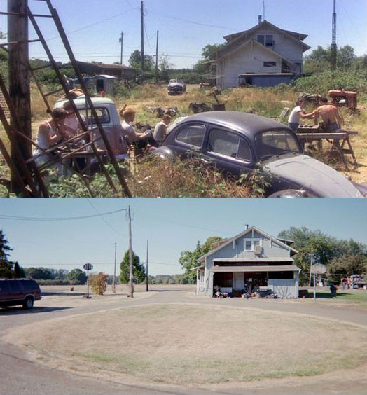 What Places from Stand By Me Look Like Today then and now (11)