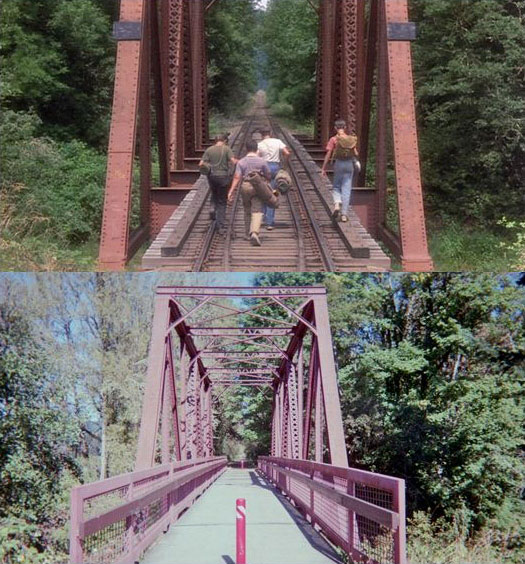What Places from Stand By Me Look Like Today then and now (6)
