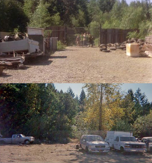 What Places from Stand By Me Look Like Today then and now (9)