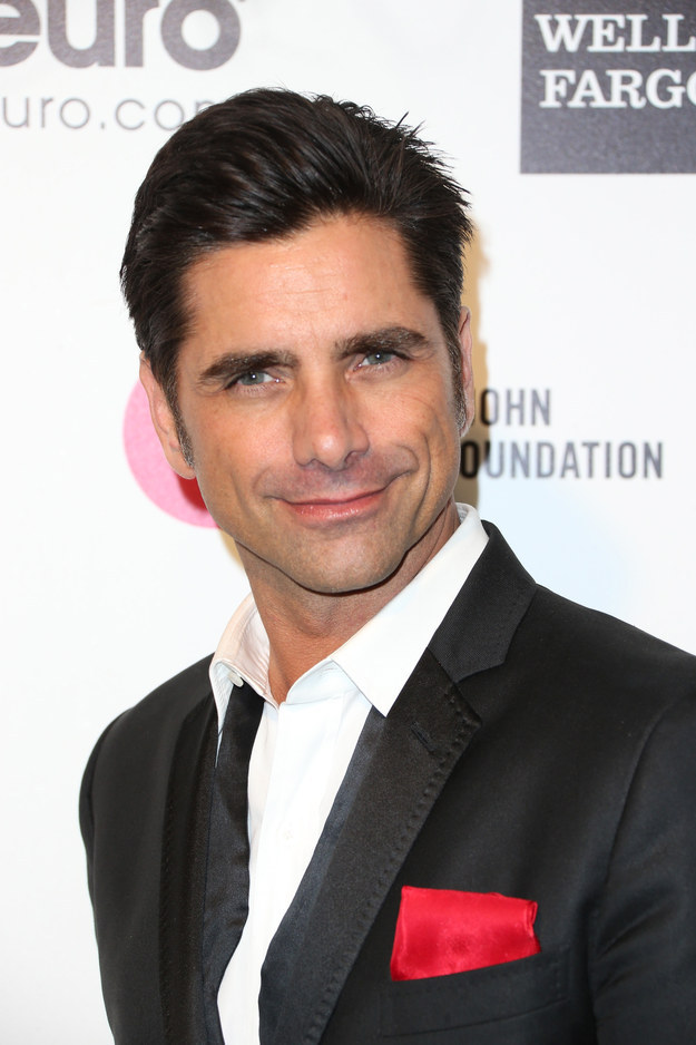 When your family talked about all of the famous Greeks and you were constantly reminded of John Stamos' beauty.