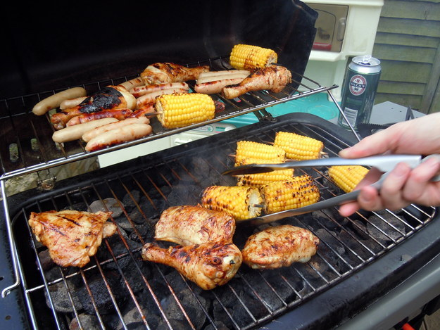 Why don't you realize that BBQ is a noun and a verb and a general way of life?
