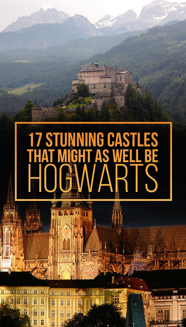 17 Stunning Castles That Might As Well Be Hogwarts