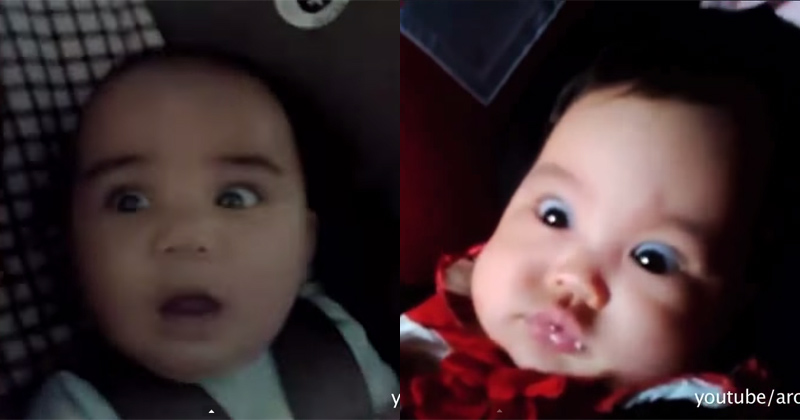 A Supercut of Babies Riding Through Tunnels