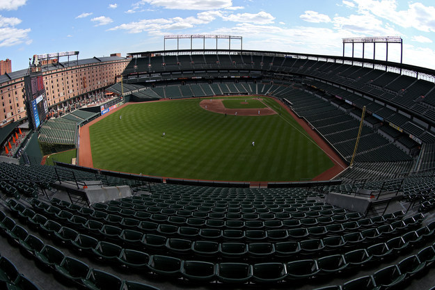 After Riots, Orioles Play To An Empty Stadium In Baltimore