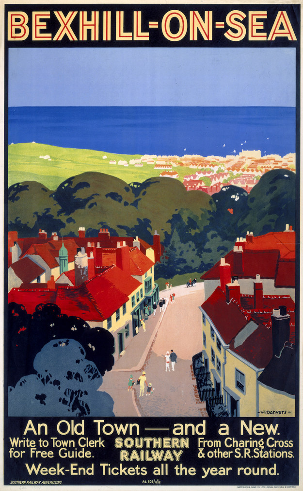 Bexhill-on-Sea, Southern Railway, 1928