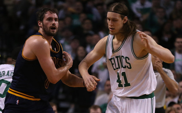 """But Olynyk insisted that Love's comments were """"ridiculous."""""""