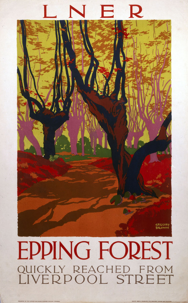 Epping Forest, London & North Eastern Rail, 1923