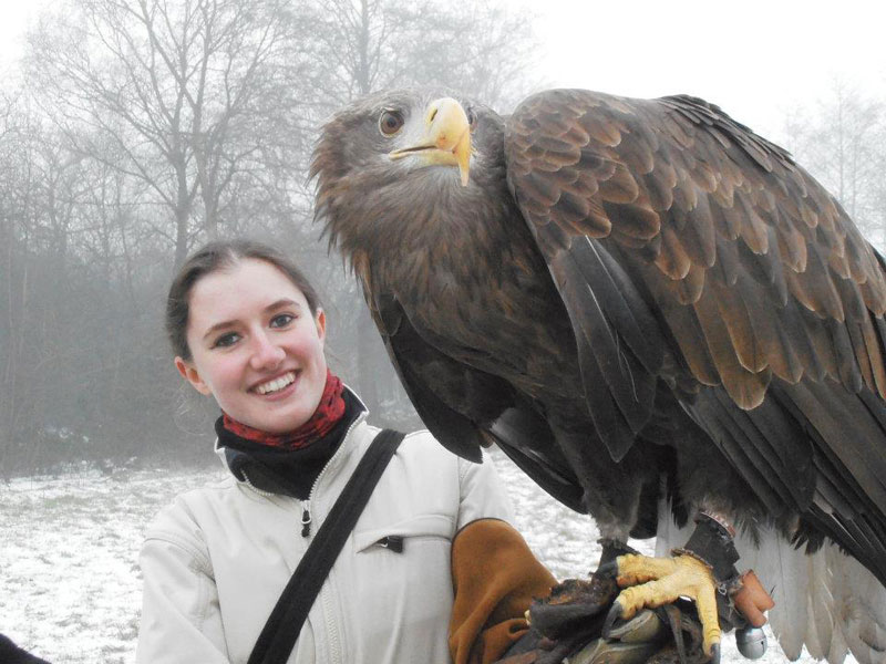Handler Shares Her Amazing Images With Birds of Prey (6)