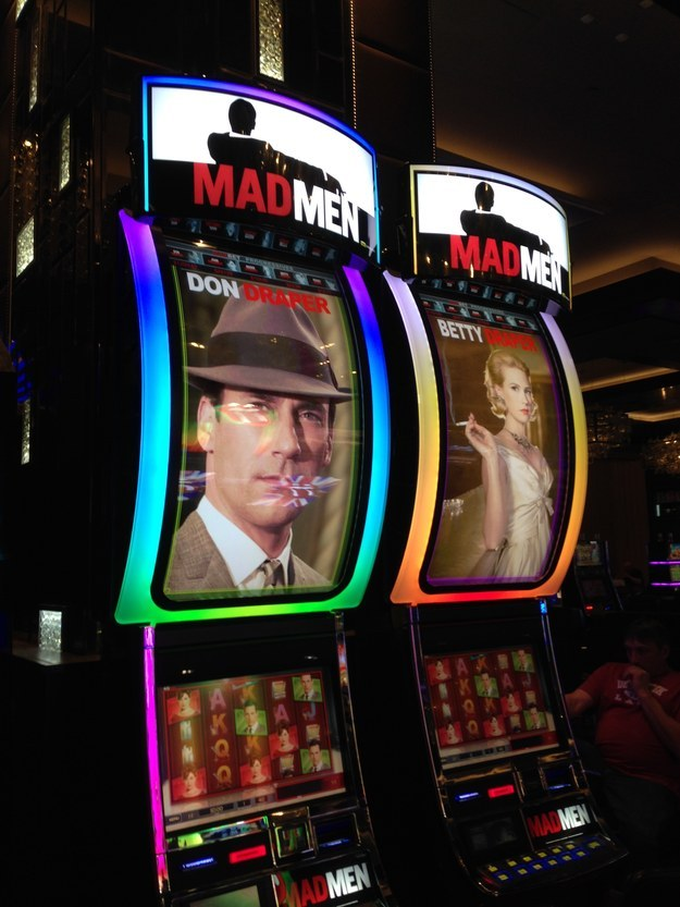 Here s a Mad Men slot machine. 34 Things First Time Visitors Need To Know About Las Vegas