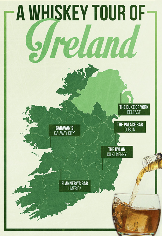 Here's How To Take A Whiskey Tour Of Ireland