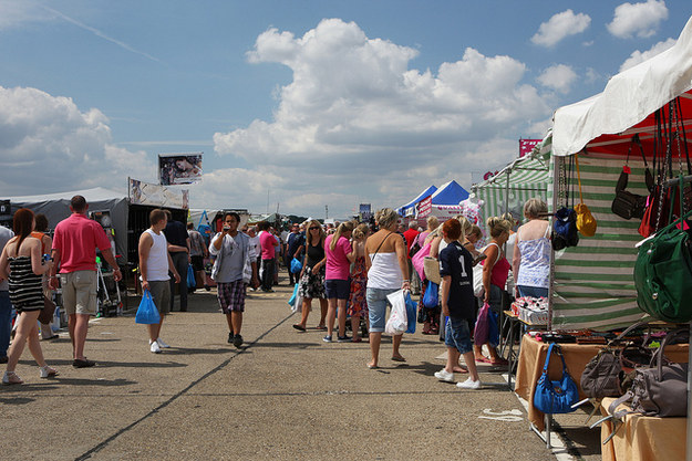 Hunt for treasures (and some pretty good knock-offs) at North Weald Market