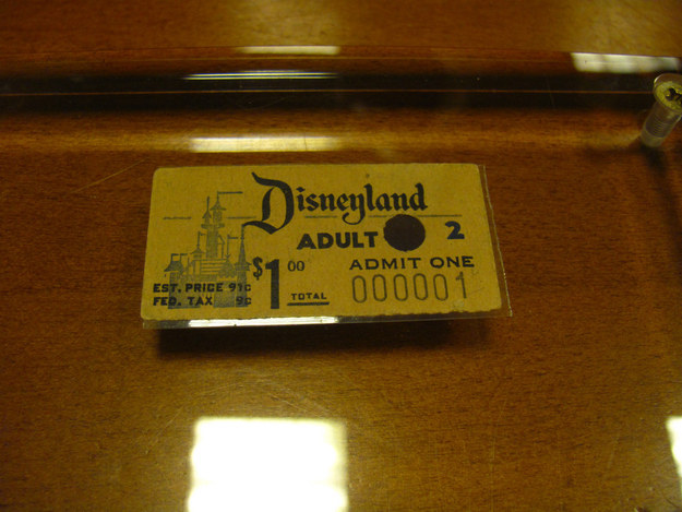 In 1955 — the year Disneyland opened — adult admission cost $1, a movie ticket cost about 45 cents, and the average annual salary was $3,300.