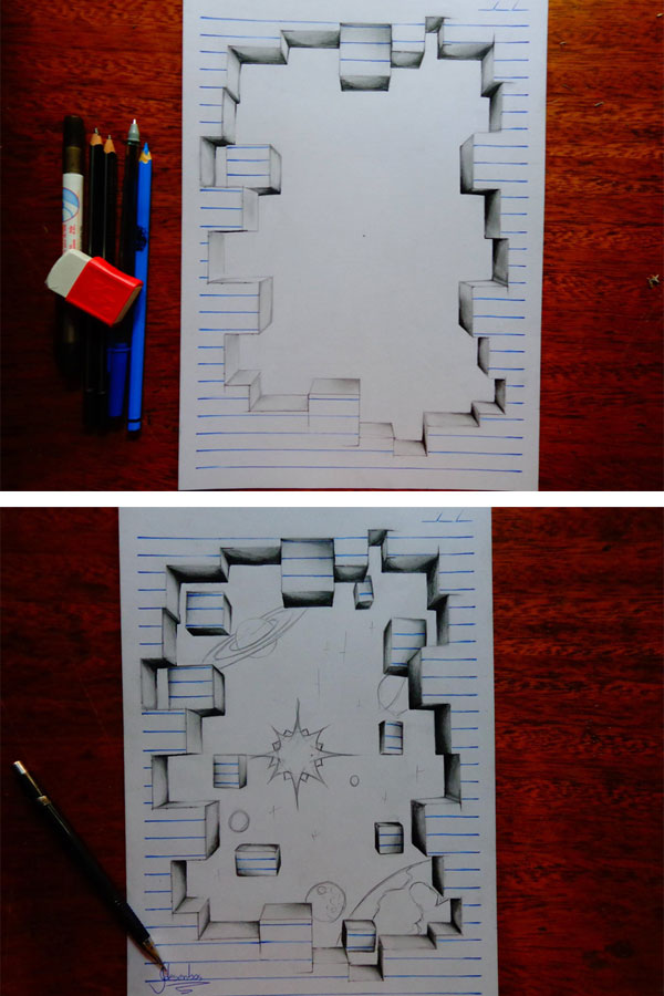 3d notepad art by joao carvalho (14)