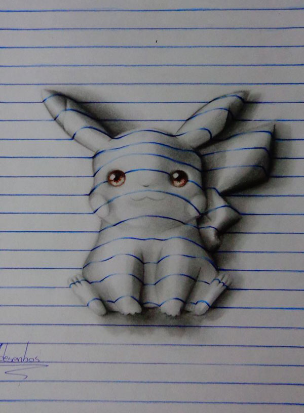3d notepad art by joao carvalho (16)