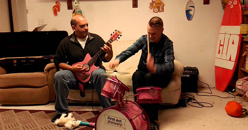 Musicians Shred Through Some Slayer on Preschool Instruments