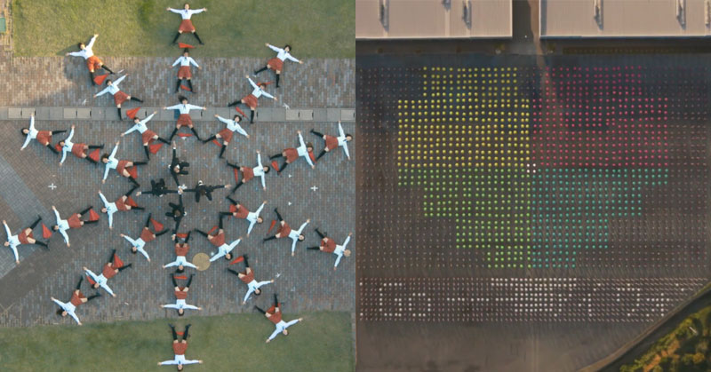 OK Go's Latest Video Features Drones, Unicycles and Lots of Umbrellas
