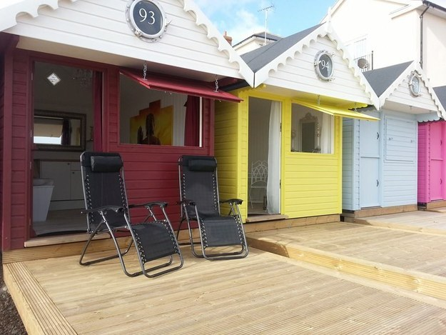 Rent a boutique beach hut by the sea in Walton-on-the-Naze